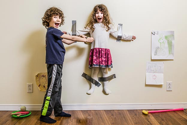 Sibling Squabbles? Turn the Tussles into Giggles!