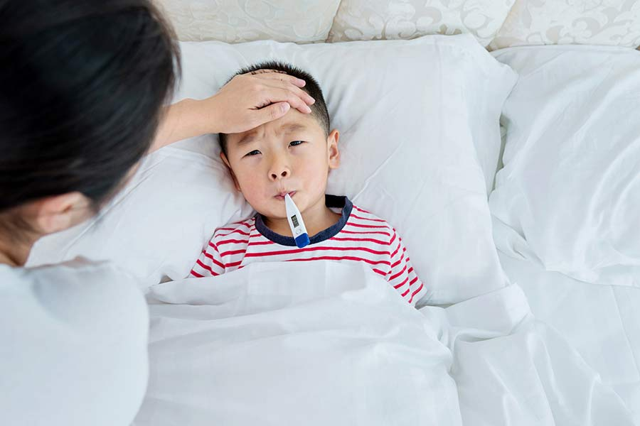 Your Child Has a Fever. When to Call the Doctor.